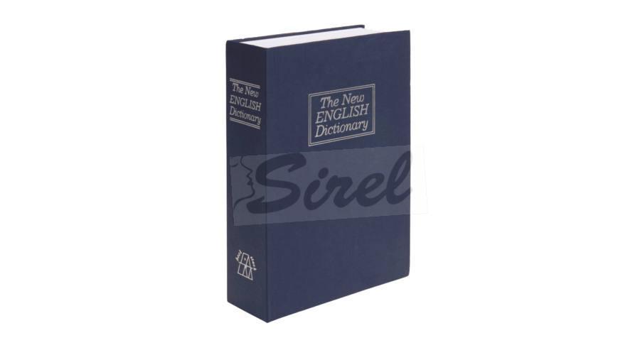 Tajný trezor kniha modrá