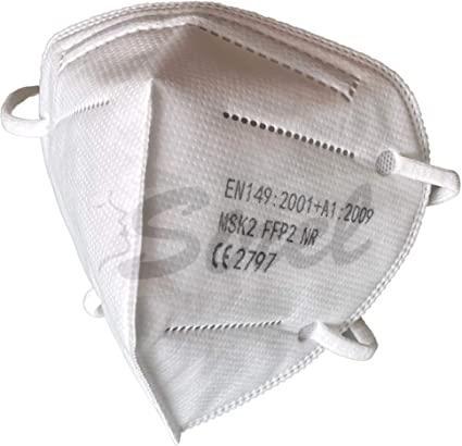 Respirátor FFP2 100ks biely
