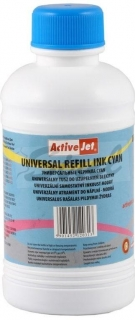 Refill ActiveJet Universal cyan 250ml