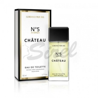 EDT 50ml Gordano Parfums alternatíva Chanel No.5