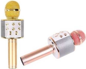 Karaoke mikrofon WS 858 čierna