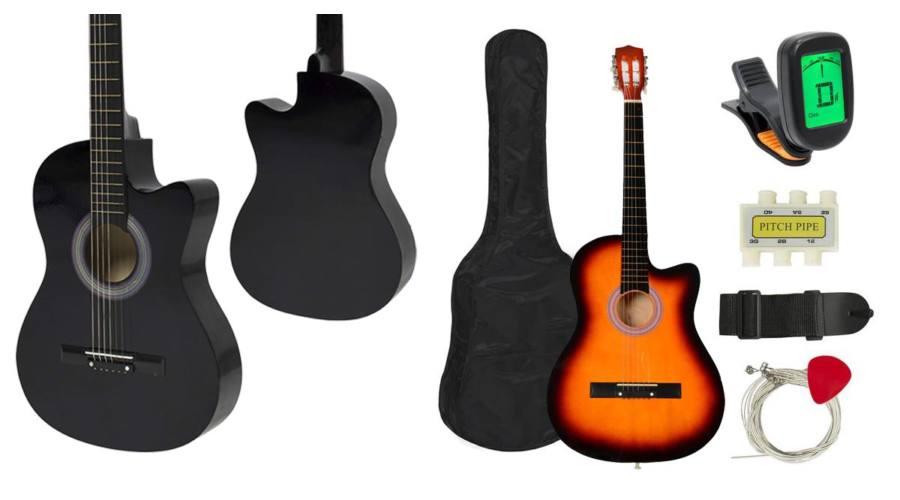 R8  GUITAR Acoustic set RG-982 - čierna