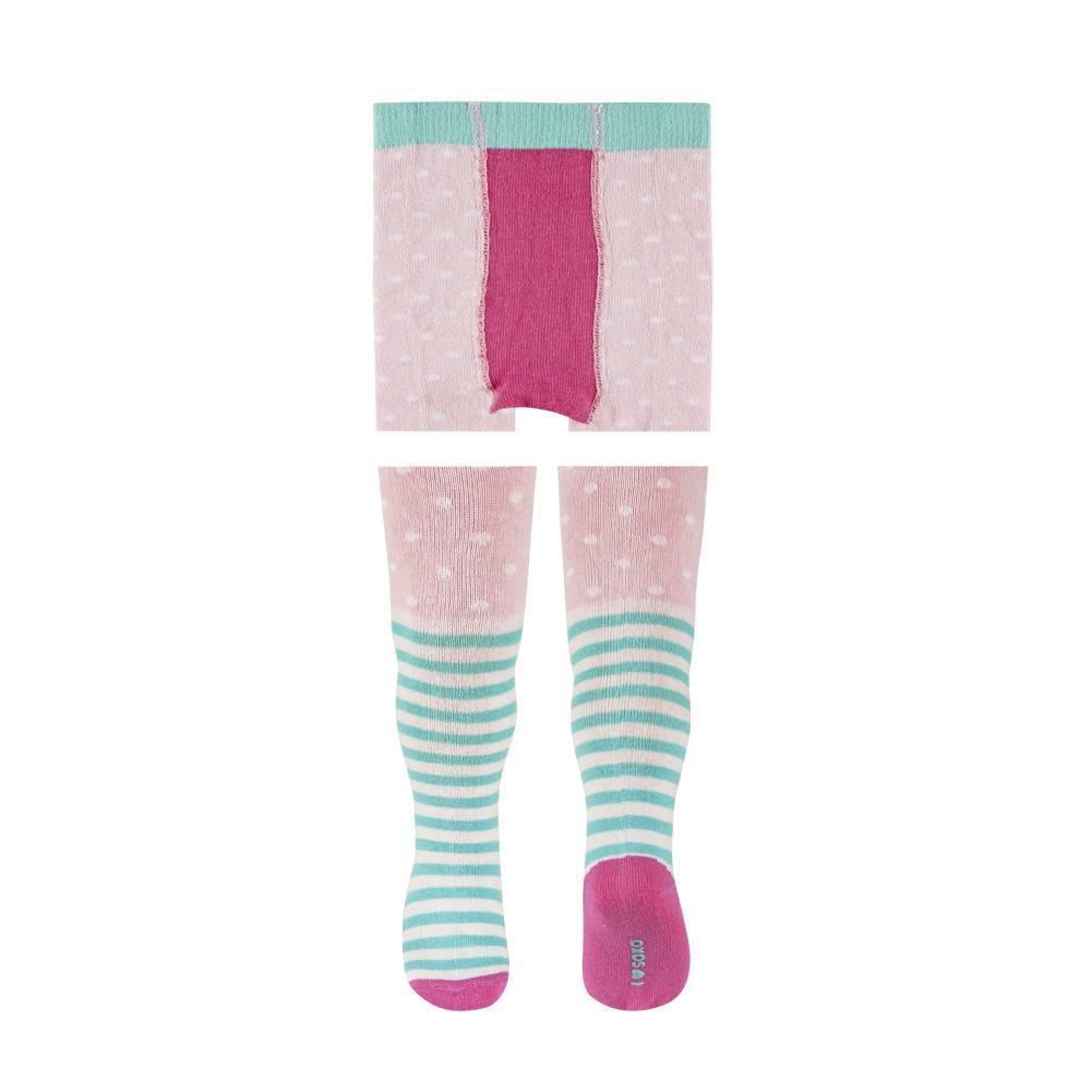 SOXO detské veselé pančuchy rúžové