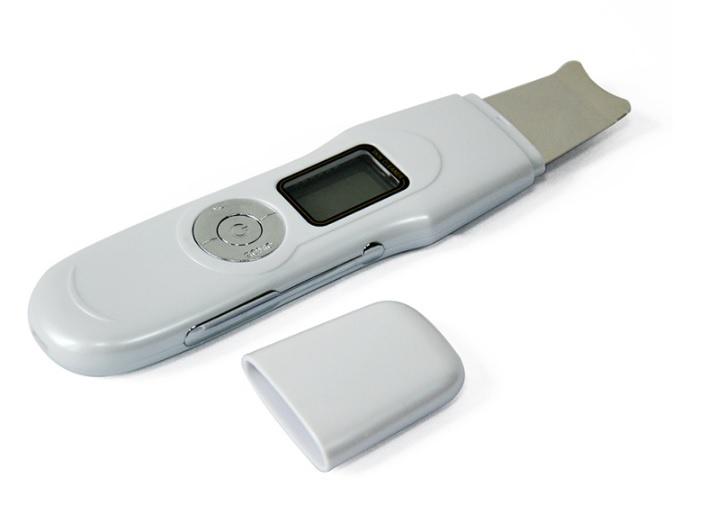 Ultrazvuková špachtle na pleť 306 s EMS, LCD