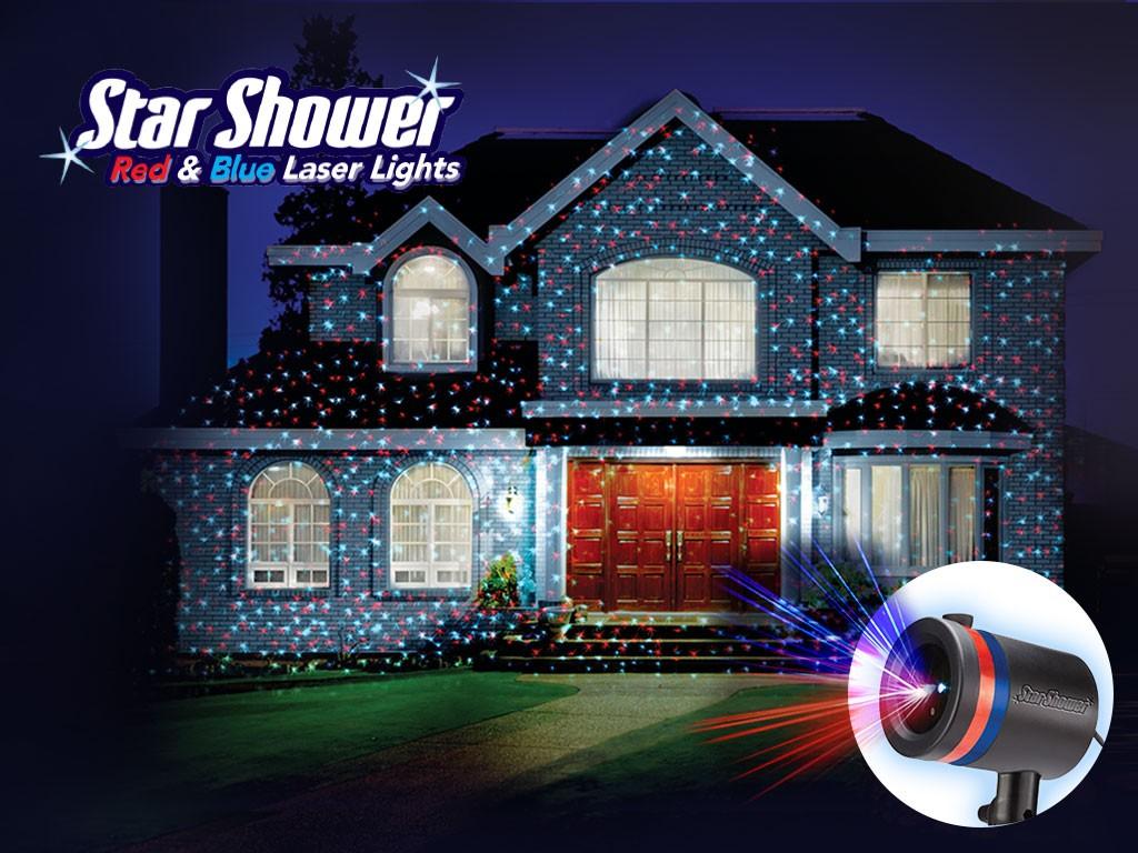Star shower - úžasné laserové osvetlenie (nielen) na Vianoce