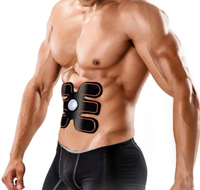 Elektrický posilňovač brušných svalov EMS