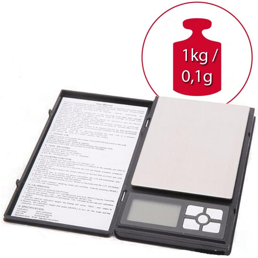 R8 Gamer DG-1000 do 1kg /0,1g