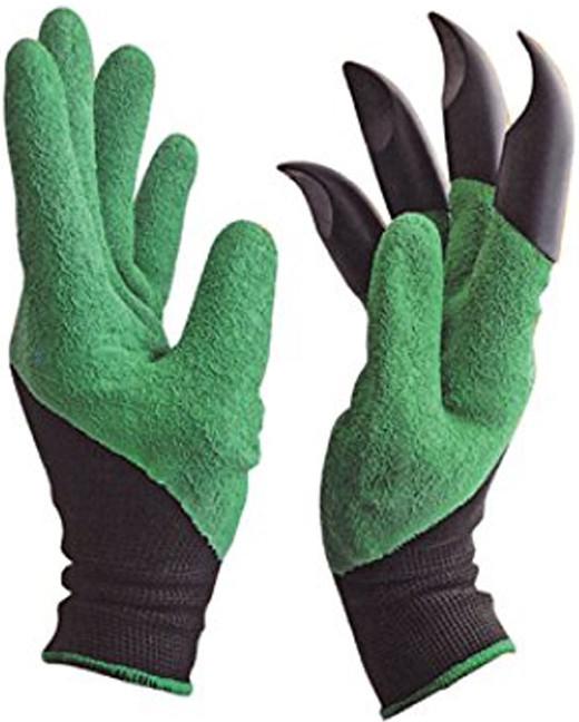 R8 Garden OP3 Záhradné rukavice so zabudovanými pazúrmi, 1 pár, Uni