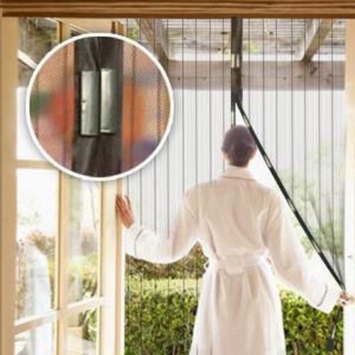 GERMANY MAGIC MESH Magnetická sieťka proti hmyzu na dvere 100cm x 210cm