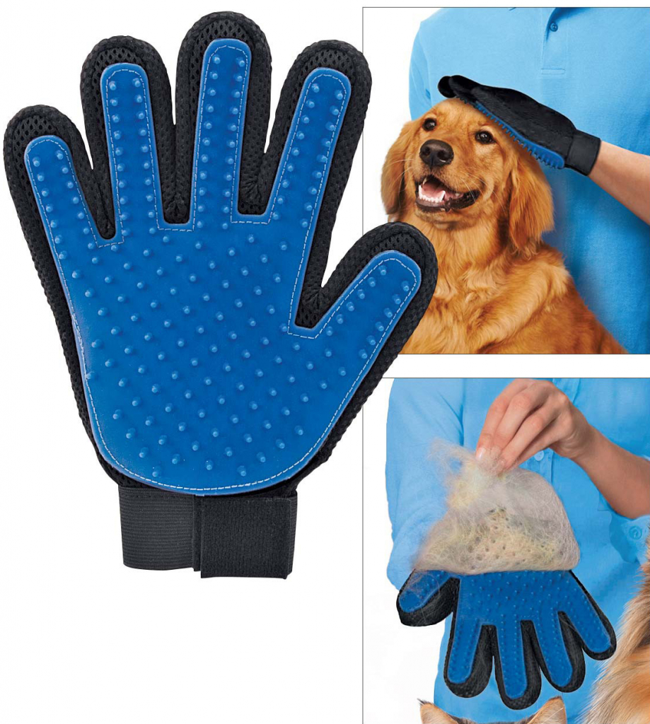 TrueTouch B01 Vyčesávacia rukavica pre psov a mačky