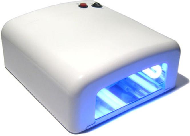 UV lampa na nechty GEL CURING 36W 818M-W 36W
