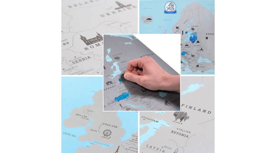 Stieracia mapa Európy