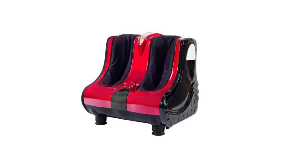 R8 034-1 Prístroj pre masáž chodidiel, členkov a lýtok - červený