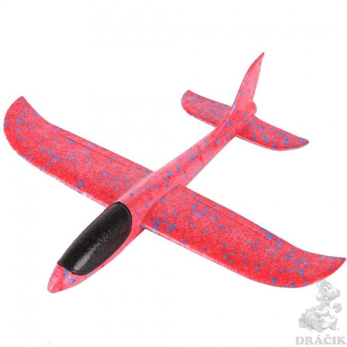 FOXGLIDER detské hádzací lietadlo hádzadlá modré 48cm EPP