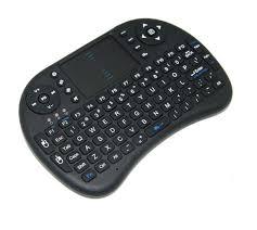 bezdrôtová R8 mini klávesnica
