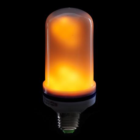 LED Žiarovka s plameňovým efektom
