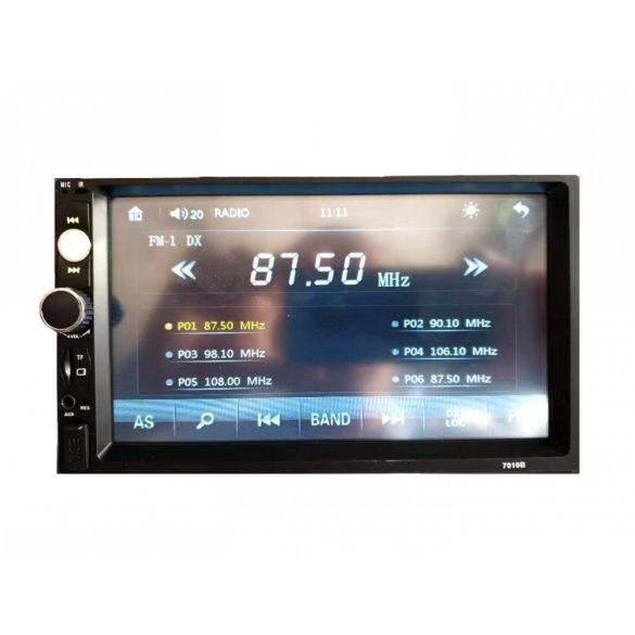 R8 CCC34 7 ''HD Bluetooth autorádio čierne