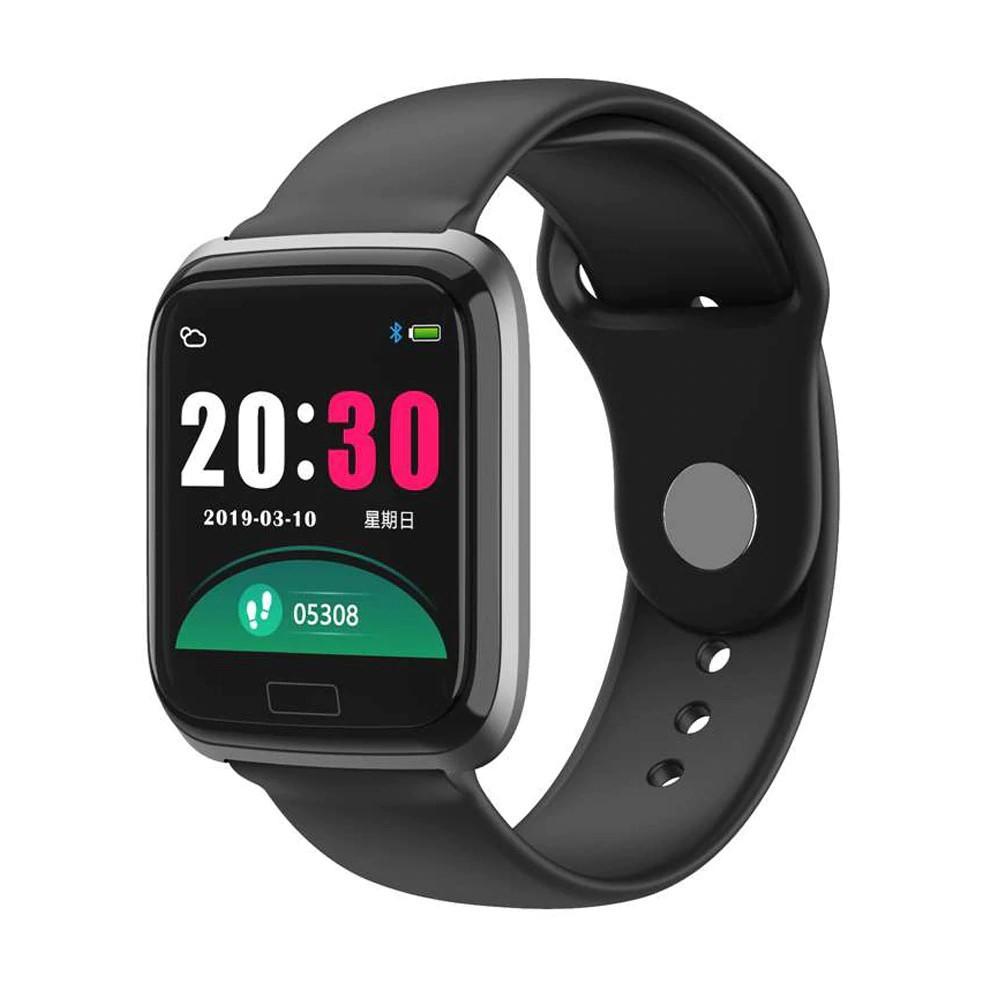 R8 Smart Watch CCC 104 Čierne