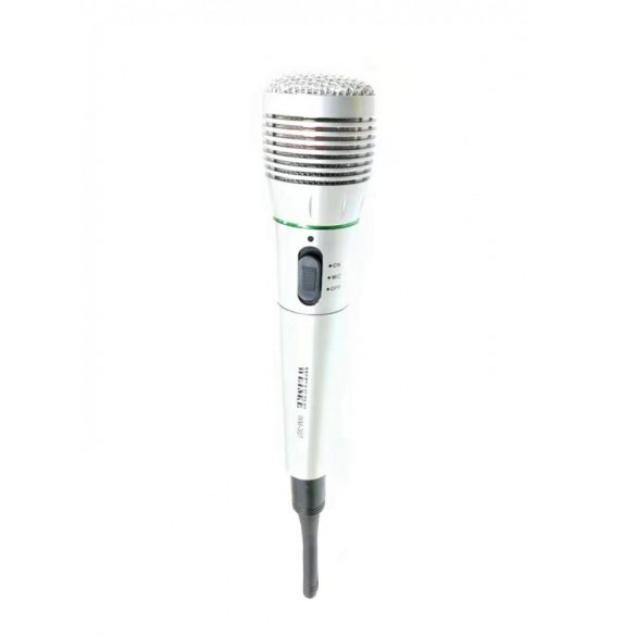 R8 307 Karaoke mikrofón Biely