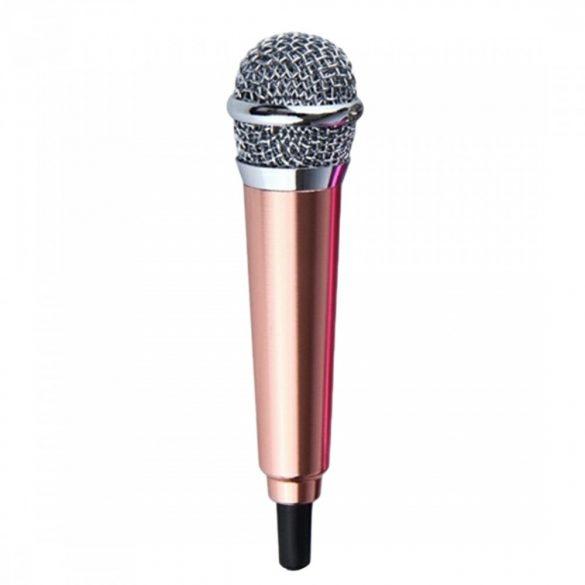 R8 Mini mikrofón rúžový