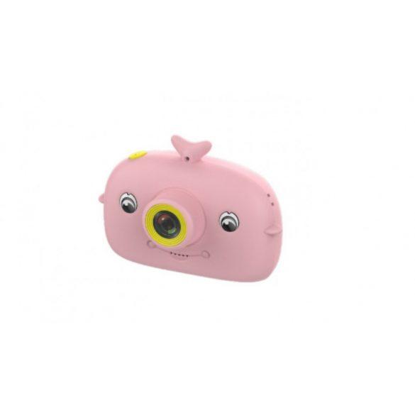 R8 CCC203 Detský fotoaparát rúžový