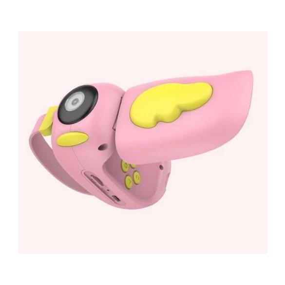 R8 CCC204 detský fotoaparát rúžový