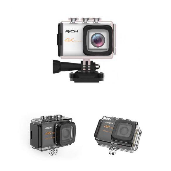 R8 N800 Športová kamera Čierna