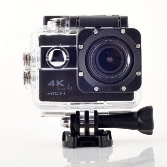R8 H10 Športová kamera čierna
