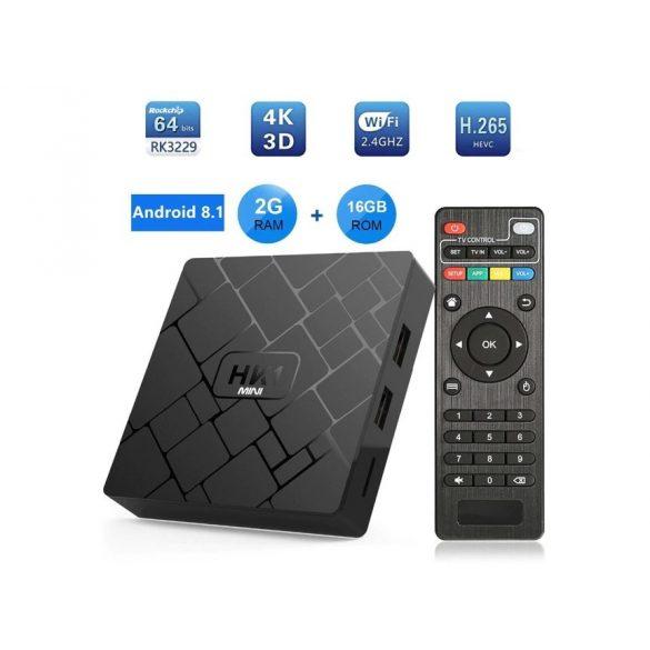 HK1 Android TV box čierny