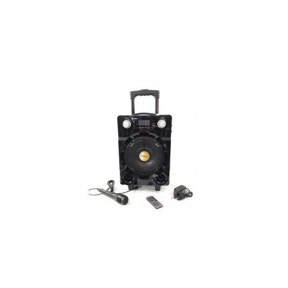 R8 BK-804 Bluetooth reproduktor s karaoke mikrofónom