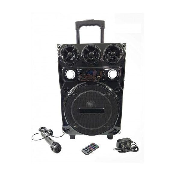 R8 BK-1000 Bluetooth reproduktor s karaoke mikrofónom