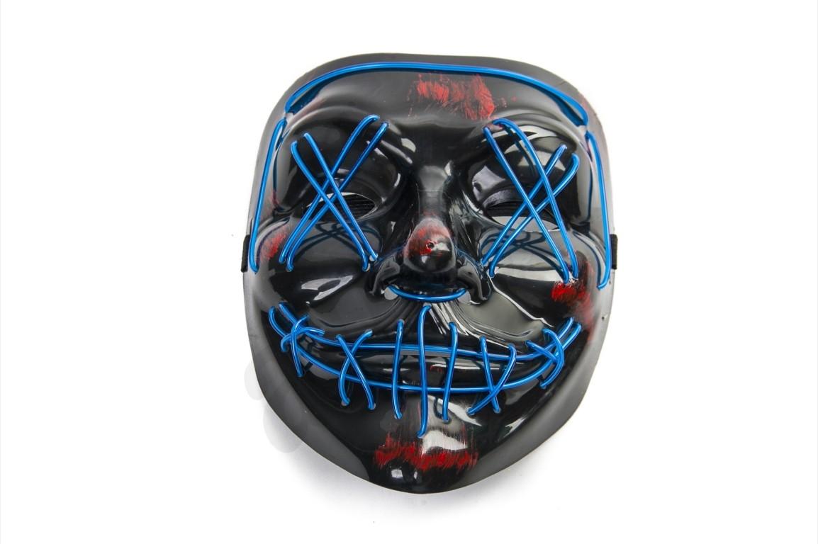 R8 Maska anonymous podsvietená