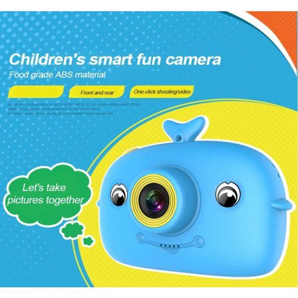 R8 CCC203 Detský fotoaparát modrý