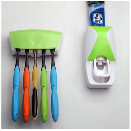 R8 Držiak na kefky s dávkovačom zubnej pasty
