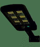 Solárne indukčné pouličné svietidlo 120W