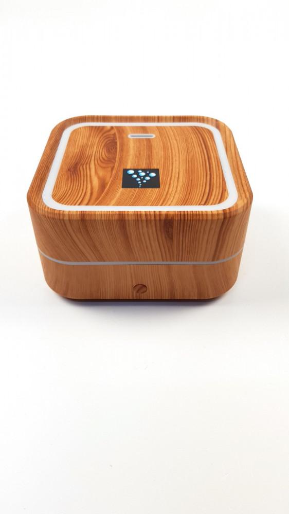 R8 USB Aroma difúzer hnedé drevo