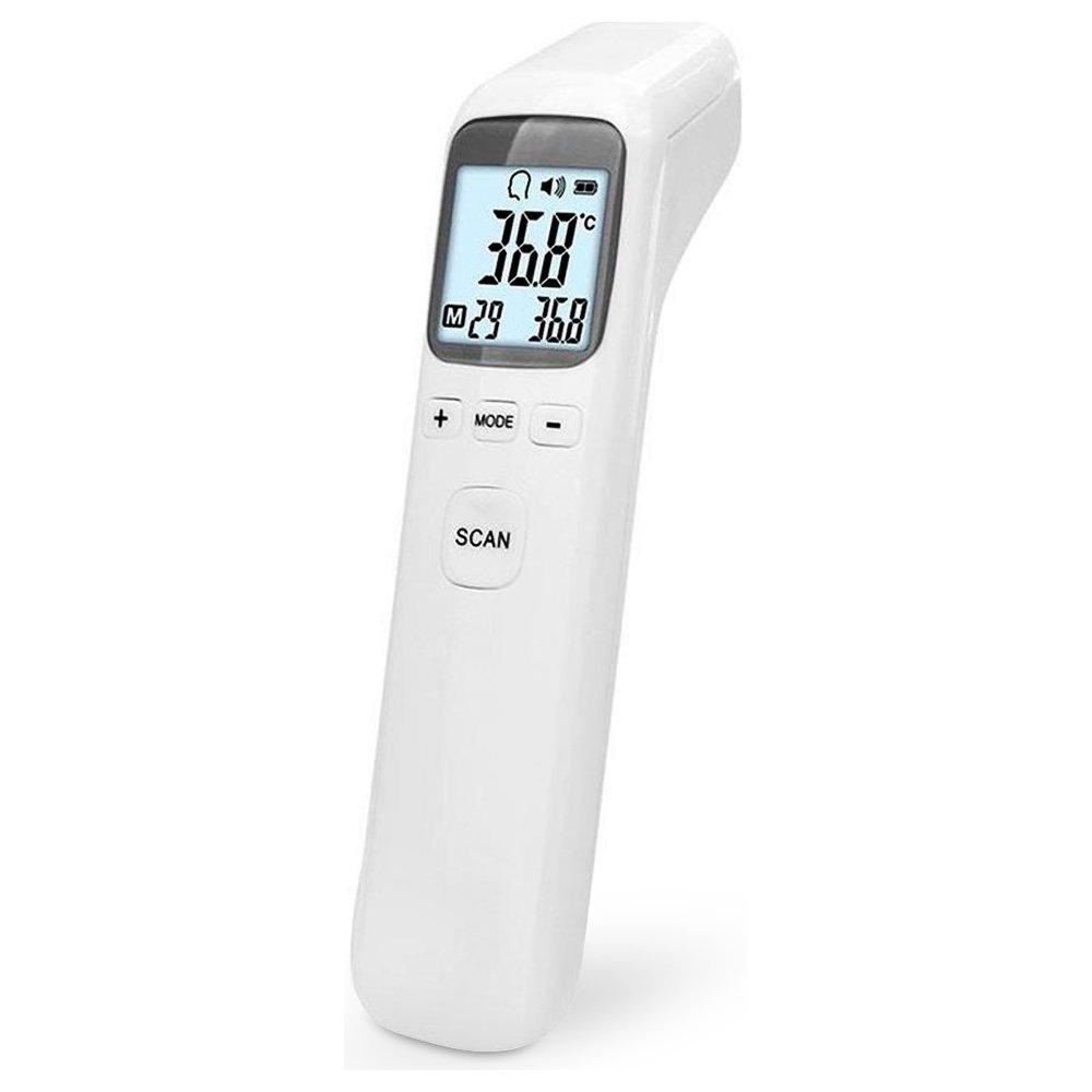 Medic CK-T1502 Laserový infračervený teplomer s LCD displejom, 32-42,5°C, °C, °F