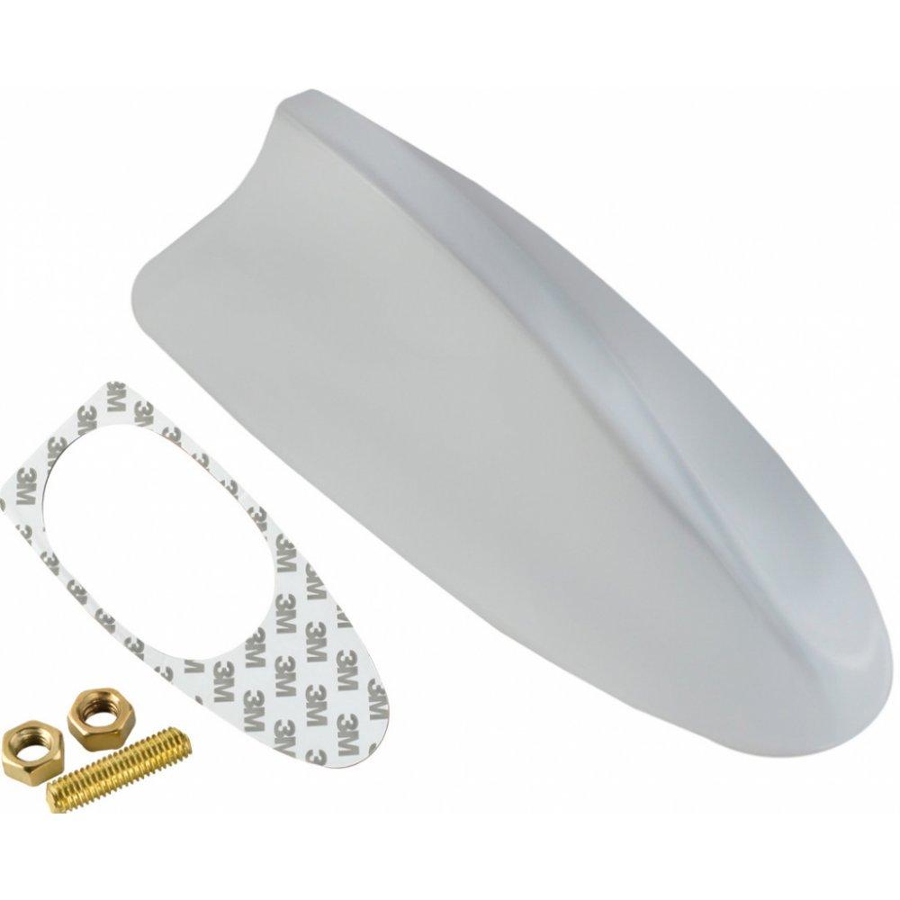 ISO 5750 Anténa SHARK FM 17x8,5cm biela