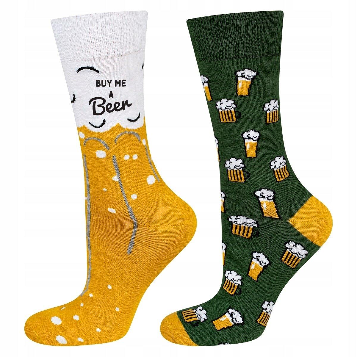 SOXO pánske ponožky PIVO