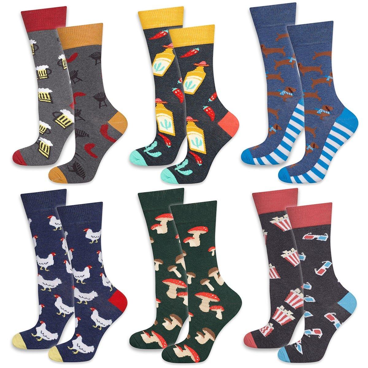 SOXO - Set pánskych ponožiek 6 párov