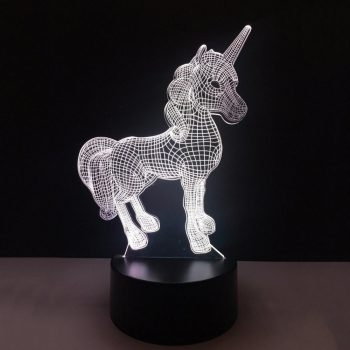 R8 LED lampa jednorožec