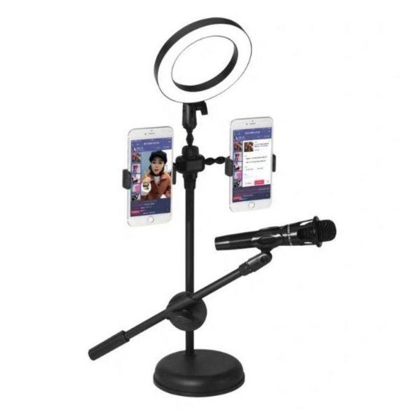 R8 Selfie statív s mikrofónom