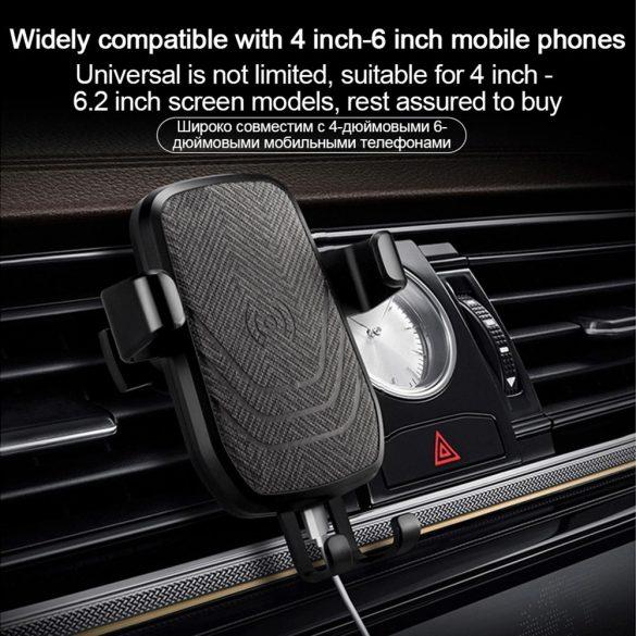 R8 CCC28 Držiak telefónu do auta čierny