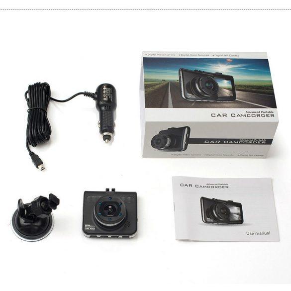 R8 CCC37 Záznamová kamera do auta Čierna