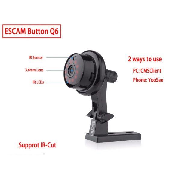 R8 CCC44 mini ip kamera čierna