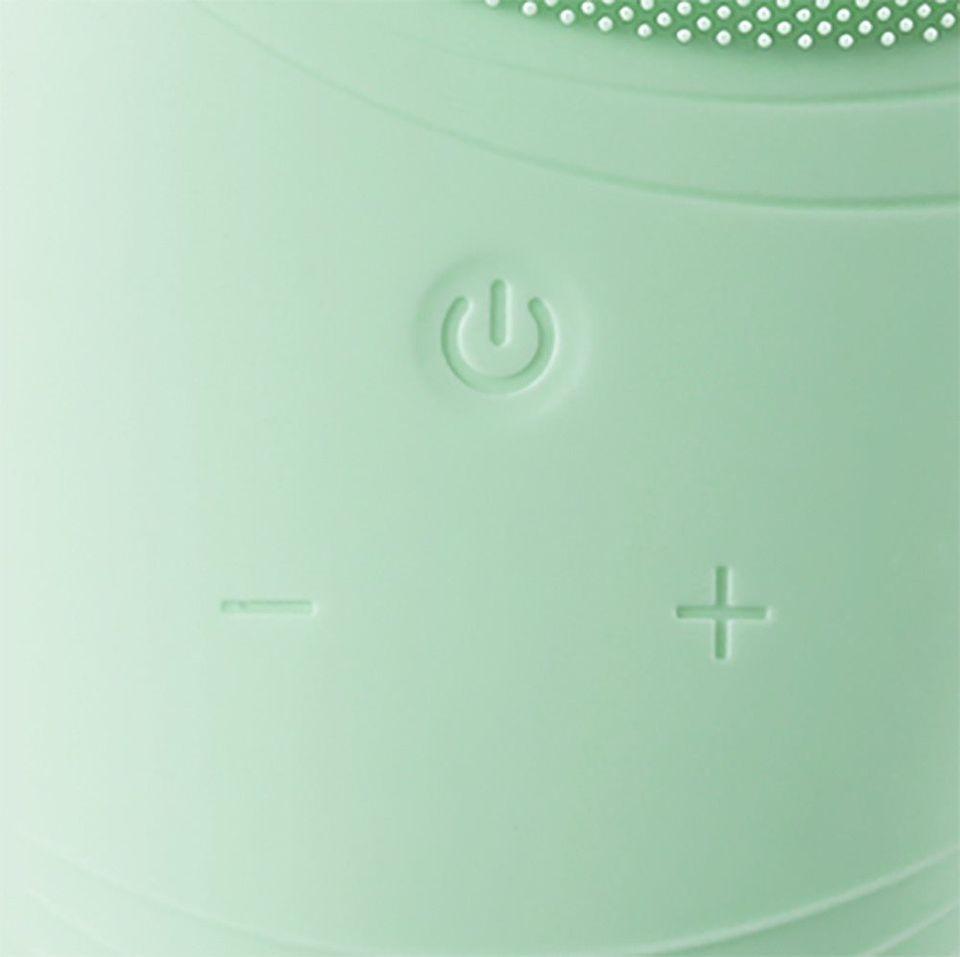 HOOMEI Silikónový čistič tváre HM-7335G zelený