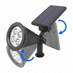 R8 solárne záhradné svetlo 10W