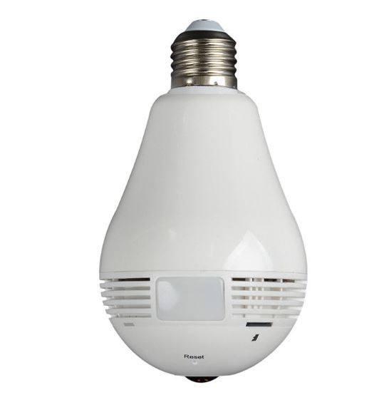 R8 IP kamera skrytá vo funkčnej žiarovke - QB158