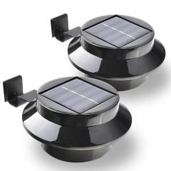 Solárna 3 LED lampa na odkvap/plot 11445