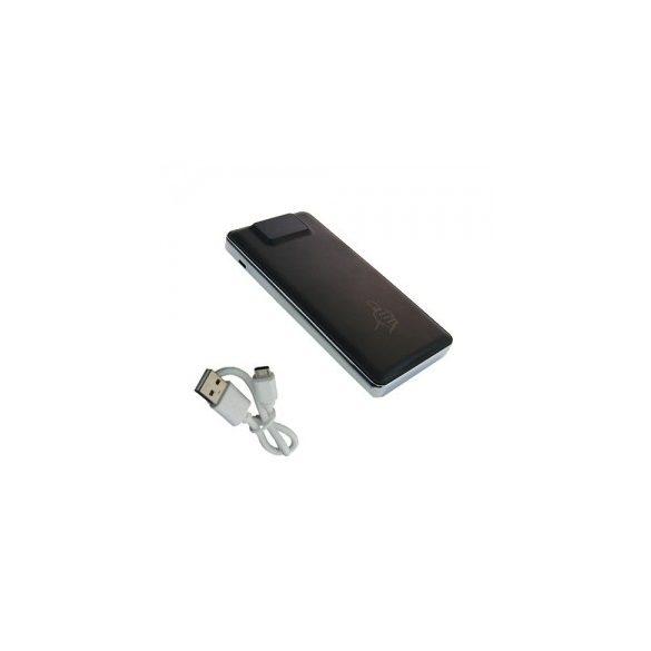 R8 PBANKA USB PORTU (ČIERNA, PRENOSNÁ NABÍJAČKA)